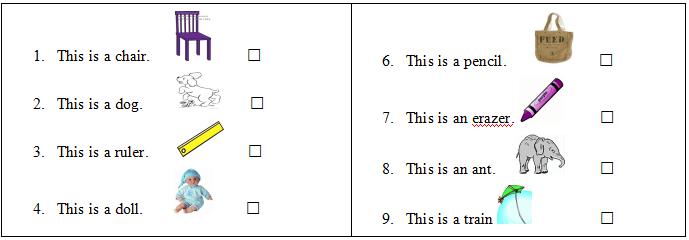 bài tập tiếng Anh lớp 2 cho bé tại nhà